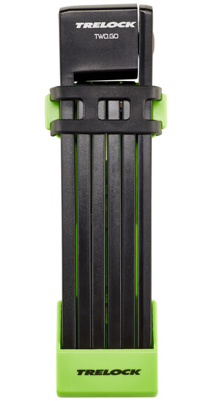 Trelock FS 200 TWO.GO L - Antivol - 100 cm vert